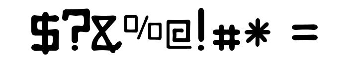 Digitalis Boneface Font OTHER CHARS