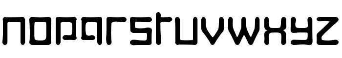 Digitalis Boneface Font UPPERCASE