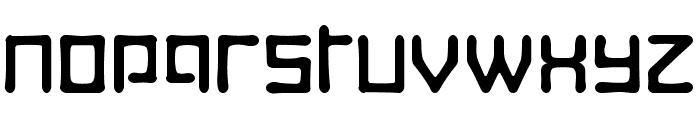 Digitalis Boneface Font LOWERCASE