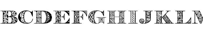 Digizen Font LOWERCASE