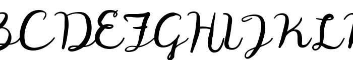 Digory Doodles Font UPPERCASE