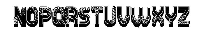 Diligent Regular Font UPPERCASE