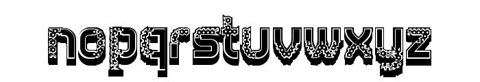 Diligent Regular Font LOWERCASE