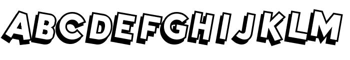 DimWitGauche Font UPPERCASE