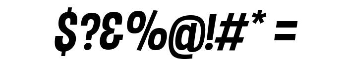 Dimbo Italic Font OTHER CHARS