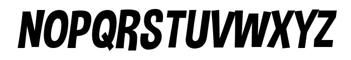 Dimbo Italic Font UPPERCASE