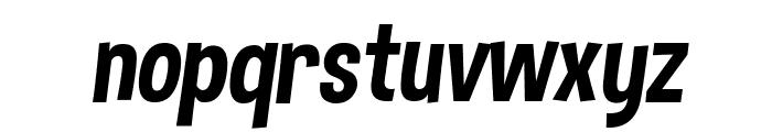 Dimbo Italic Font LOWERCASE