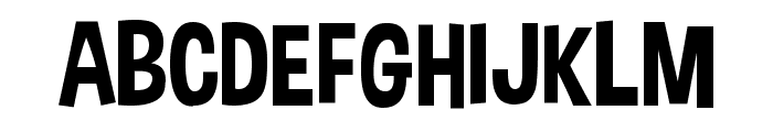 Dimbo Regular Font UPPERCASE