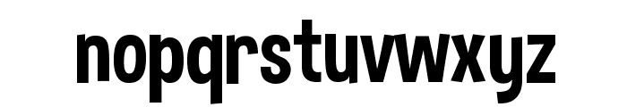 Dimbo Regular Font LOWERCASE
