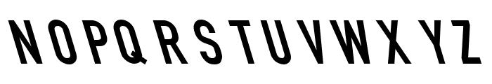 Din Kursivschrift Eng Leftalic Font UPPERCASE