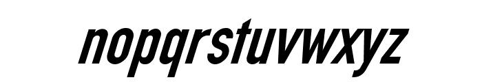 Din Kursivschrift Eng Font LOWERCASE