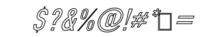 Din Kursivschrift Ghost Eng Font OTHER CHARS