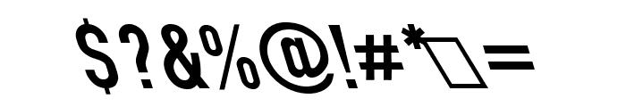 Din Kursivschrift Left Eng Font OTHER CHARS