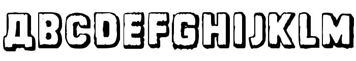 Dinarjev Republika Font UPPERCASE