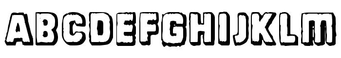 Dinarjev Republika Font LOWERCASE