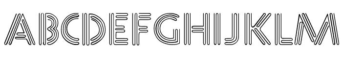Diner  Normal Font UPPERCASE