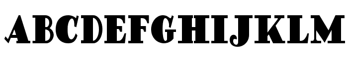 Ding Dong Daddyo NF Font UPPERCASE