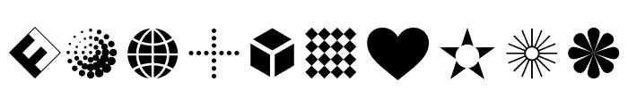 Dingbats2SamplerOT Font OTHER CHARS