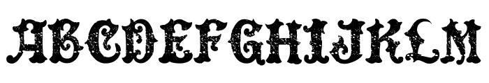 DinglE HuckleberrY Regular Font UPPERCASE