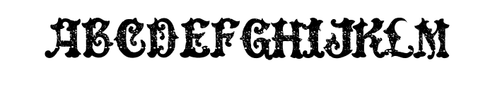 DinglE HuckleberrY Regular Font LOWERCASE