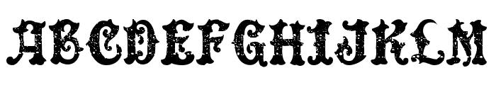 DinglEHuckleberrY-Regular Font UPPERCASE