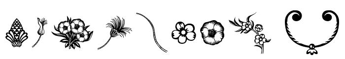 Dingleberries Font OTHER CHARS