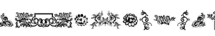 Dingleberries Font LOWERCASE