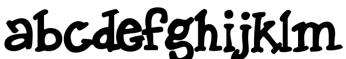 Dingo Font LOWERCASE