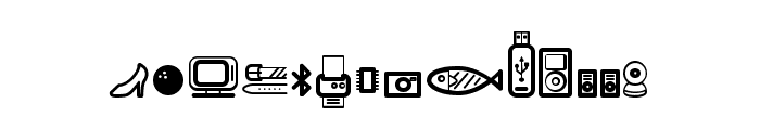 Dingpartment Store Font UPPERCASE