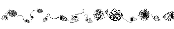 Dingsprinkle Font UPPERCASE