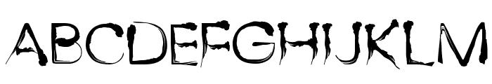 Dingy Bird Font UPPERCASE