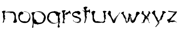 Dingy Bird Font LOWERCASE