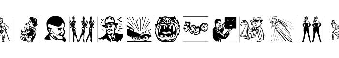 DinkPatz Font LOWERCASE