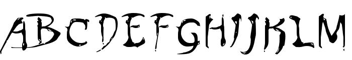 Dinobots Normal Font UPPERCASE