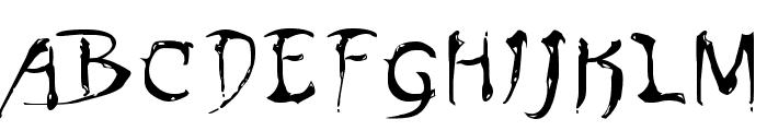 Dinobots Font UPPERCASE