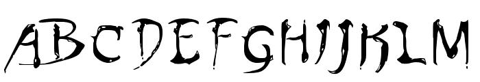 Dinobots Font LOWERCASE