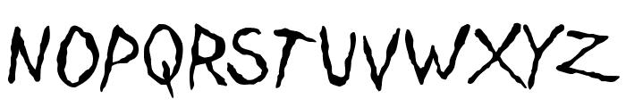 Dinosaur Jr Plane Font UPPERCASE