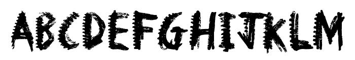 Dinosaur Font UPPERCASE