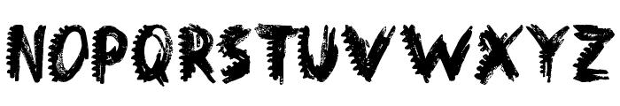 Dinosaur Font LOWERCASE