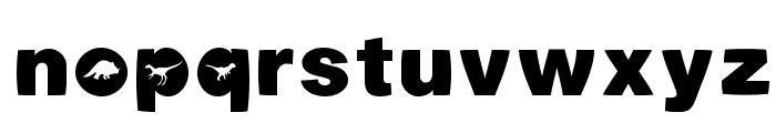 Dinotiqua-Heavy Font LOWERCASE