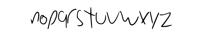 DiodeFont Font LOWERCASE