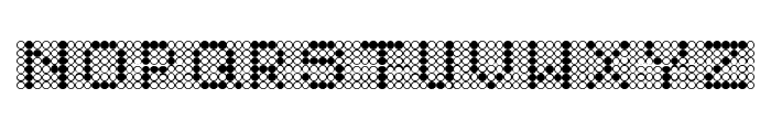Diodos Font LOWERCASE