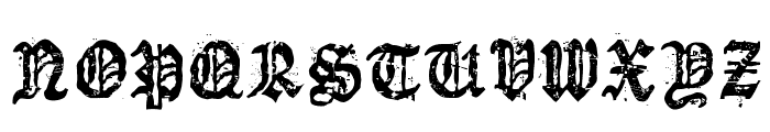 Dioszeghiensis Rg Font UPPERCASE