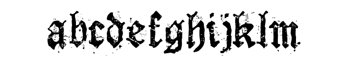 Dioszeghiensis Rg Font LOWERCASE