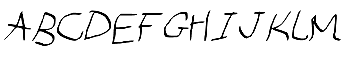 Dip_and_pen Font UPPERCASE