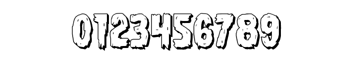 Dire Wolf 3D Regular Font OTHER CHARS