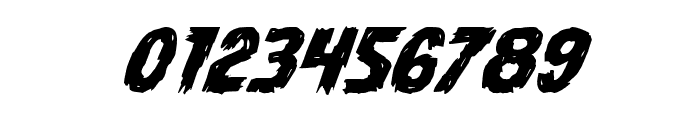 Dire Wolf Expanded Italic Font OTHER CHARS