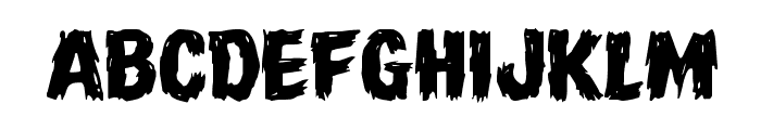 Dire Wolf Expanded Font UPPERCASE