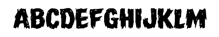 Dire Wolf Expanded Font LOWERCASE