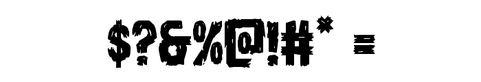 Dire Wolf Regular Font OTHER CHARS